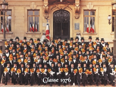 Photos officielles classe 1976