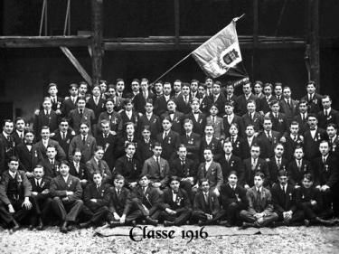 Photos officielles classe 1916