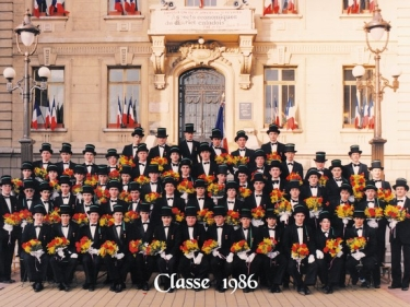 Photos officielles classe 1986