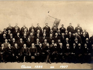 Photos officielles classe 1886