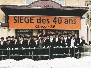 Manifestations classe 1986