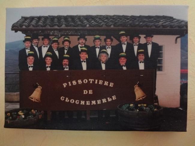 Le bureau de la classe 66 - Clochemerle - 1996